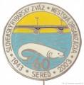 Rybářský odznak SRZ MO Sereď 1943-2003