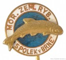 Rybářský odznak Mor. Zem. Ryb. Spolek v