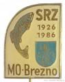 Rybářský odznak MO SRZ Brezno 1926-1986
