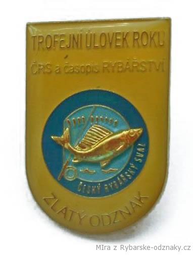 Rybářský odznak Zlatý trofejní úlovek