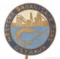 Rybářský odznak Městská organisace ČSRS