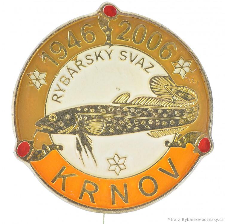 Rybářský odznak Rybářský svaz Krnov 1946-2006