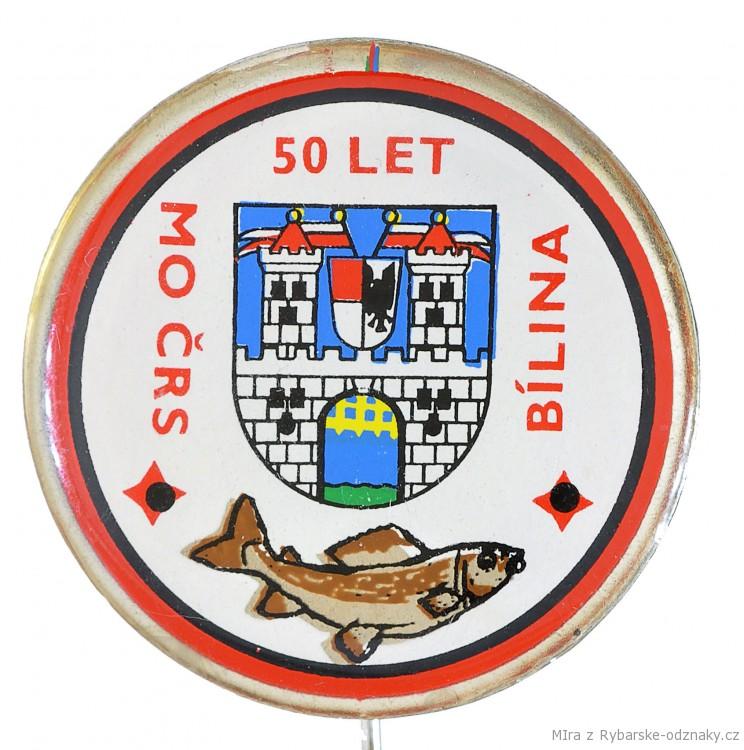 Rybářský odznak 50 let MO ČRS Bílina