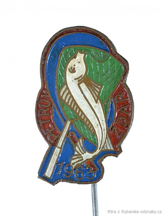 Rybářský odznak Petrův zdar 1963