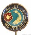 Rybářský odznak MO ČRS Bojkovice 40 let