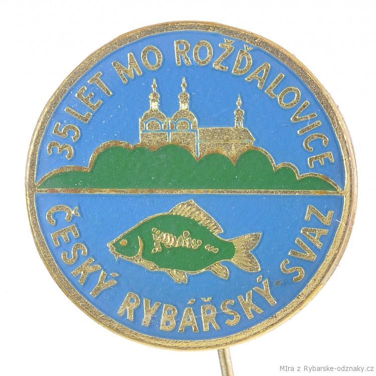 Rybářský odznak 35let MO Rožďalovice