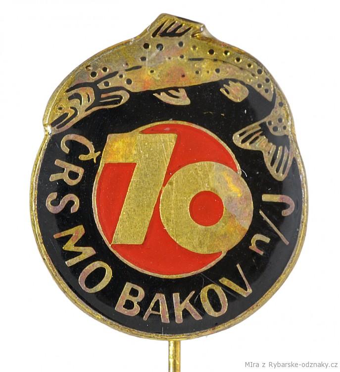 Rybářský odznak ČRS MO Bakov nad Jizerou 70 let