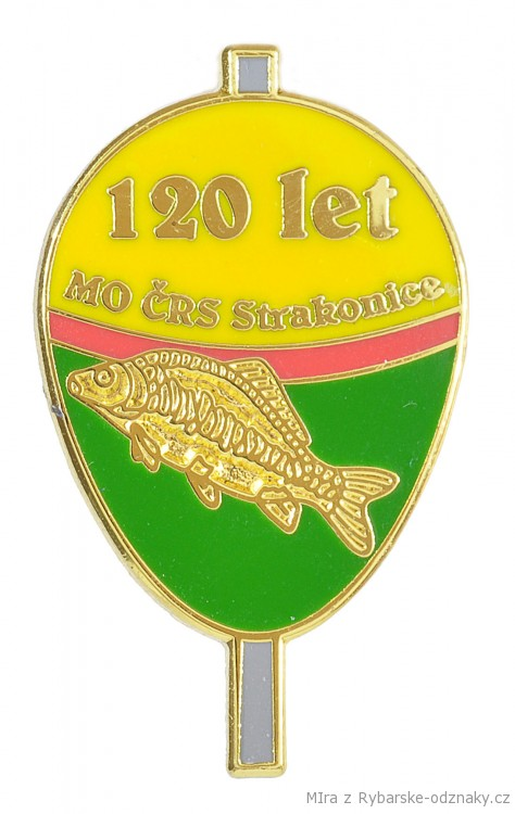 Rybářský odznak Mo Črs Strakonice 120 let