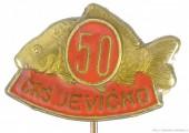 Rybářský odznak ČRS Jevíčko 50 let