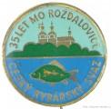 Rybářský odznak ČRS MO Rožďalovice 35 le