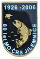 Rybářský odznak 80let MO ČRS Jilemnice