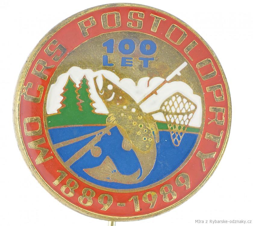 Rybářský odznak MO ČRS Postoloprty 100 let