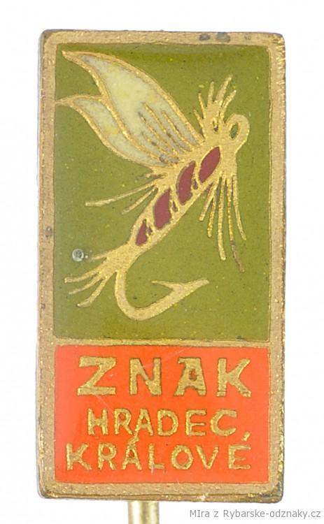 Rybářský odznak Znak Hradec Králové