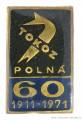 Rybářský odznak Tokoz polná 60 let