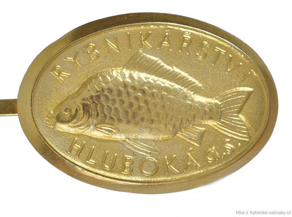 Rybářský odznak Rybníkářství Hluboká