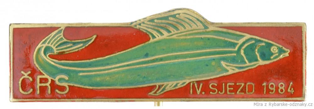 Rybářský odznak ČRS IV. Sjezd 1984