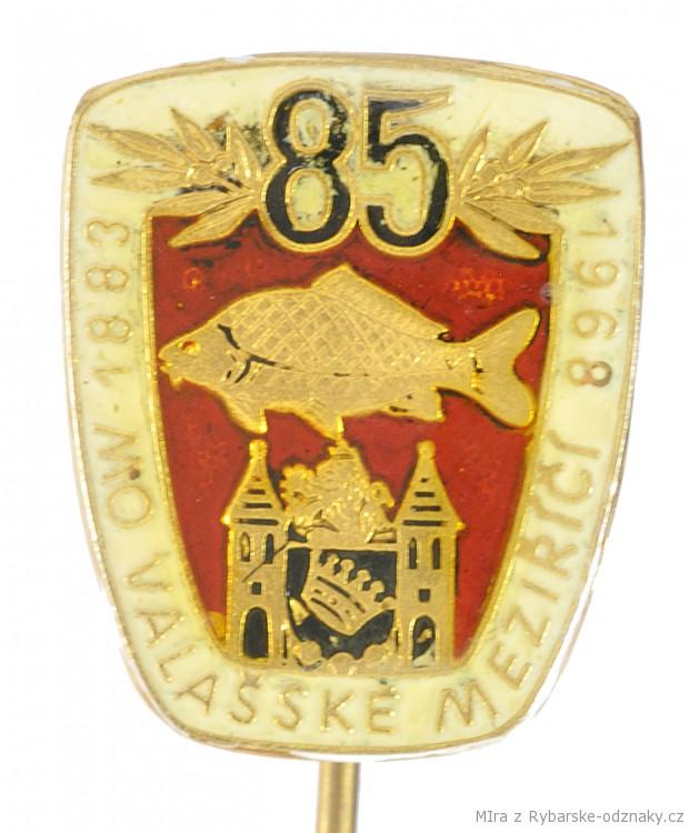 Rybářský odznak MO Valašské Meziříčí 80 let
