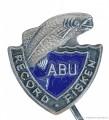 Rybářský odznak Record Fisken