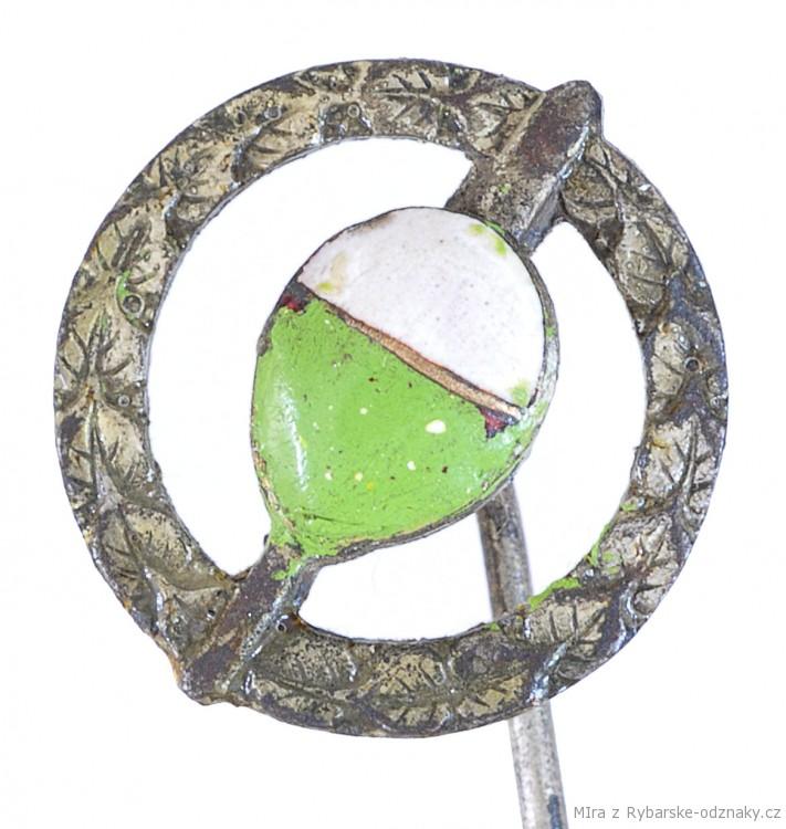 Rybářský odznak Splávek s ratolestí