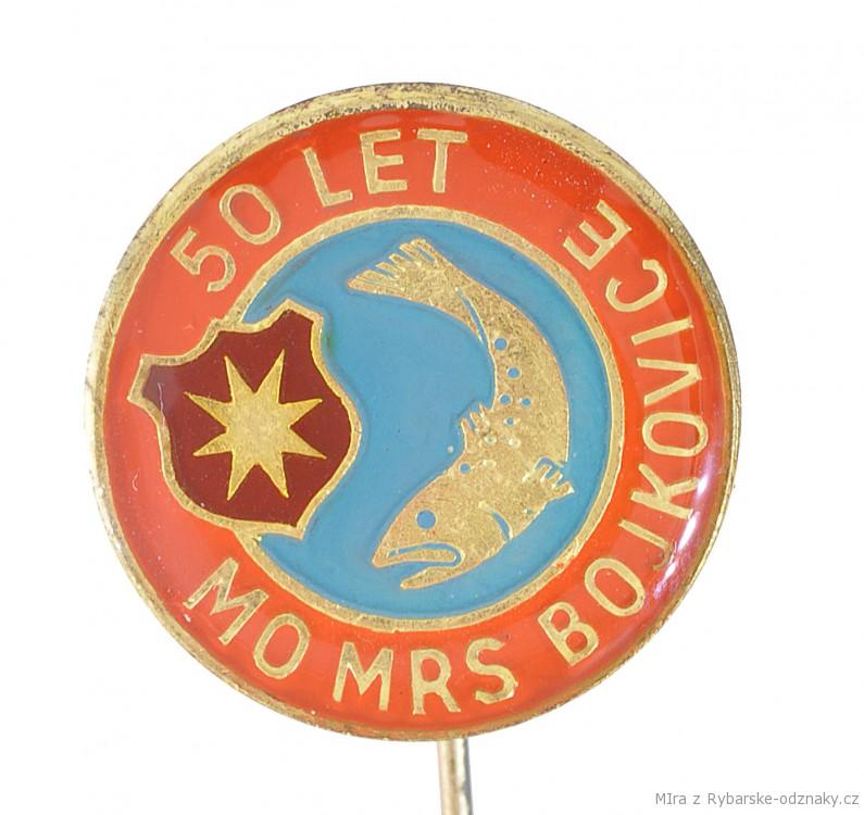 Rybářský odznak MO ČRS Bojkovice 50 let