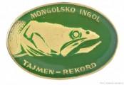 Rybářský odznak Mongolsko Ingol - Tajmen