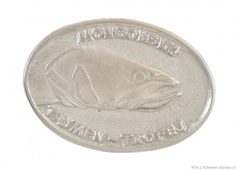 Rybářský odznak Mongolsko Ingol - Tajmen - rekord