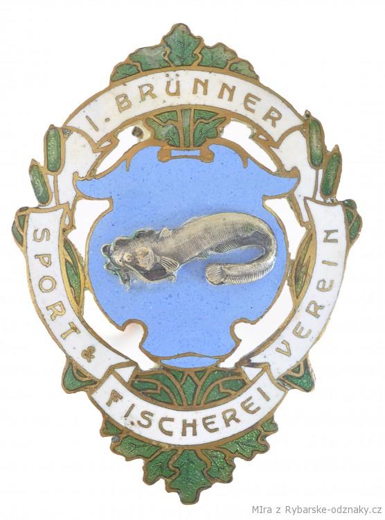Rybářský odznak I. Brunner Sport Fischerei Verein