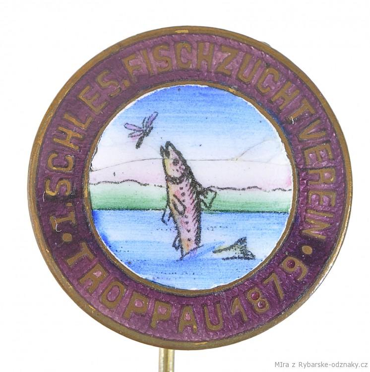 Rybářský odznak I.Schles. Fischzuchtverein Troppau