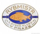 Rybářský odznak Rybmistr I.R.K. v Praze