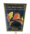 Rybářský odznak ČRS MO Úvaly 1960
